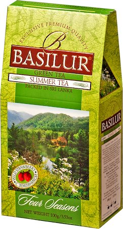 Basilur Four Seasons Summer Tea Loose Leaf Tea 100 gm
