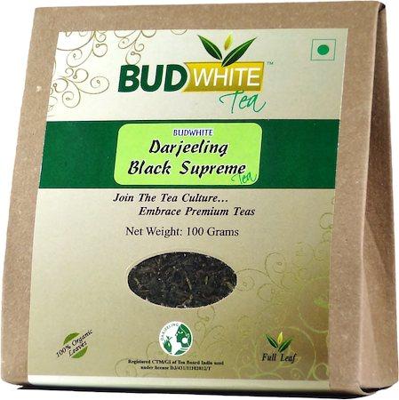 Budwhite Darjeeling Black Supreme Organic Tea 100 gm
