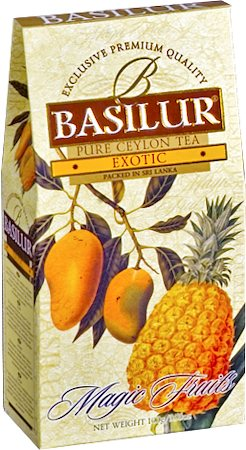 Basilur Magic Fruits Exotic Loose Leaf Tea 100 gm