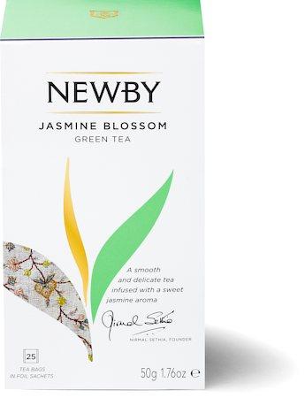 Newby Jasmine Blossom Green Tea (25 tea bags)