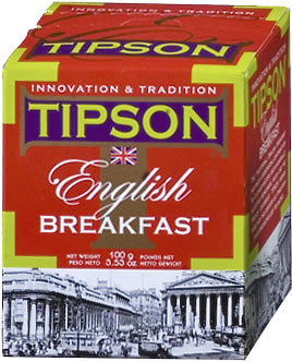 Tipson English Breakfast Loose Leaf Tea 100 gm