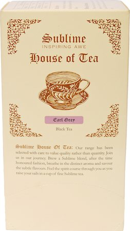Sublime Earl Grey Tea (25 Pyramid tea bags)