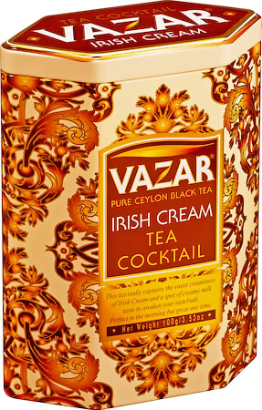 Vazar Irish Cream Tea Cocktail Loose Leaf 100 gm Caddy