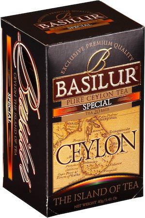Basilur The Island of Tea Ceylon Special (20 tea bags)