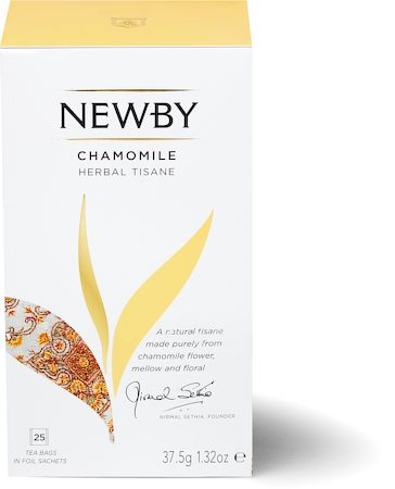 Newby Chamomile Herbal Tisane (25 tea bags)