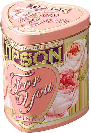 Tipson For You Pink Loose Leaf Tea 75 gm Caddy
