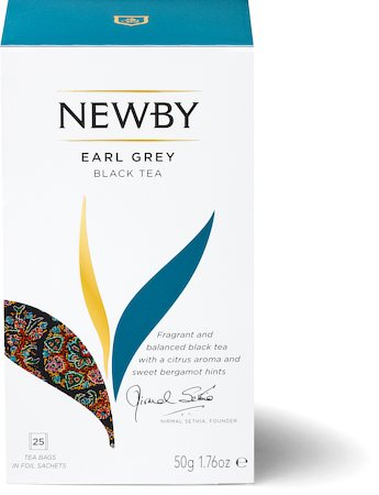Newby Earl Grey Black Tea (25 tea bags)