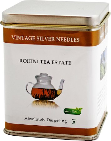 Vintage Rohini Silver Needles White Tea, Loose 50 gms Caddy
