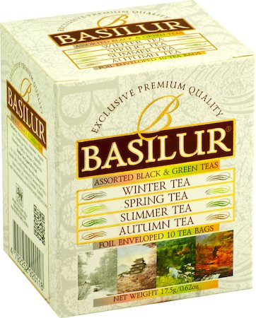 Basilur Four Seasons Assorted Tea Bags (10 tea bags)