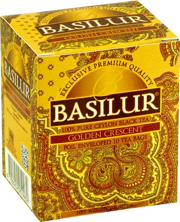 Basilur Oriental Collection Golden Crescent Tea (10 tea bags)