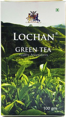 Lochan Green Tea, Whole Leaf 100 gm