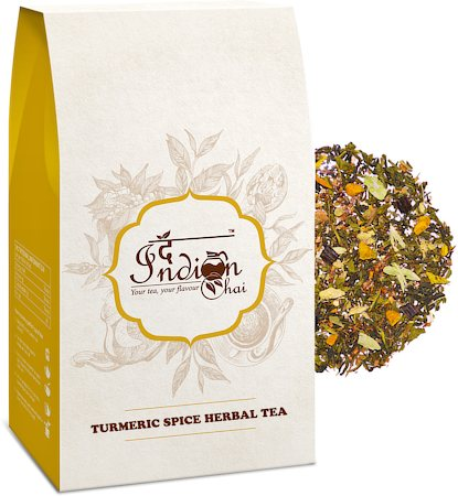 The Indian Chai - Turmeric Spice Herbal Tea (with Vanilla Beans & Rooibos), 100 gm