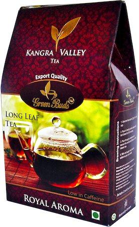 GreenBuds Kangra Royal Aroma Long Leaf Tea, Loose 125 gm
