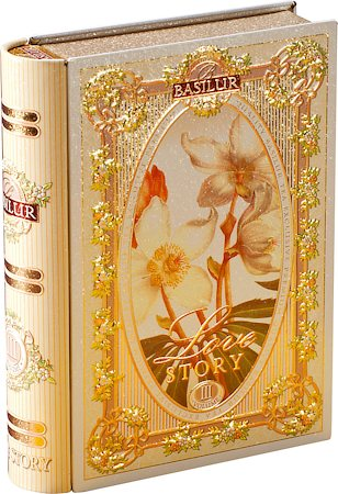 Basilur Love Story Tea Book Volume III Loose Leaf 100 gm Caddy
