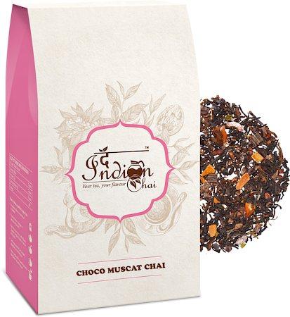 The Indian Chai - Choco Muscat Chai (Premium Darjeeling), 100 gm