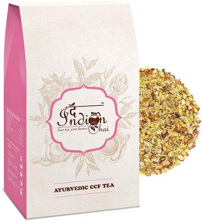 The Indian Chai - Ayurvedic Cumin, Coriander & Fennel (CCF) Digestive Herbal Tea, 100 gm