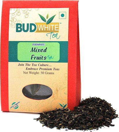 Budwhite Mixed Fruits Organic Loose Full-Leaf Tea 50 gm