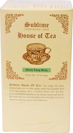 Sublime Green Long Ding Tea (25 Pyramid tea bags)