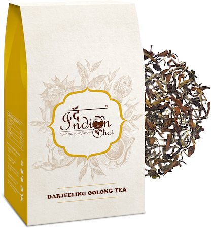 The Indian Chai - Pure Darjeeling Oolong Tea, Loose Whole Leaf 100 gm