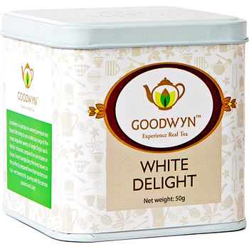 Goodwyn White Delight Tea Loose 50 gm Caddy