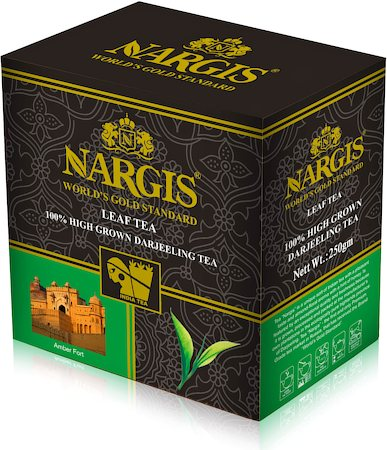 Nargis Darjeeling High Grown Black Tea, Loose Leaf 250 gm