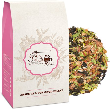The Indian Chai - Arjun Bark for Good Heart Herbal Green Tea, 100 gm