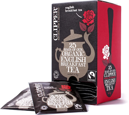 Clipper Organic English Breakfast Tea (25 tea bags)