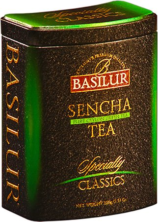 Basilur Specialty Classics Sencha Loose Tea 100 gm Caddy