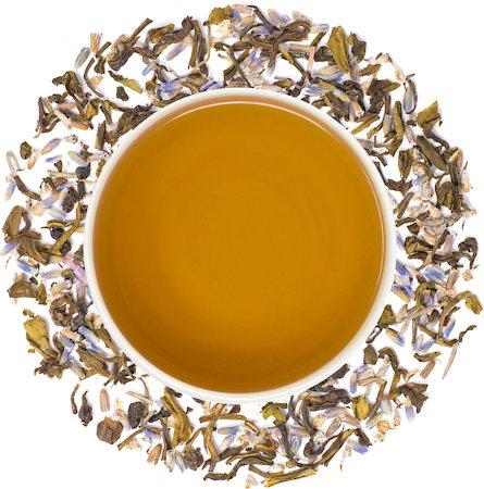 Danta Herbs Exotic Lavender Green Tea, Loose Leaf 100 gm