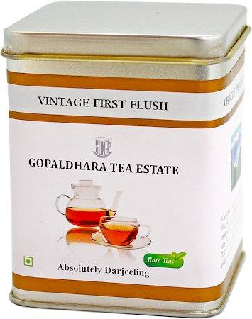 Gopaldhara Vintage First Flush Tea, Loose Leaf 50 gm Caddy