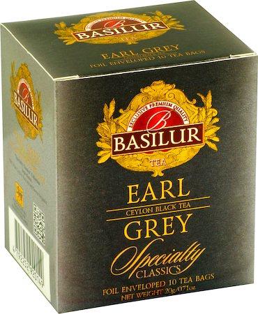 Basilur Specialty Classics Earl Grey Tea (10 tea bags)