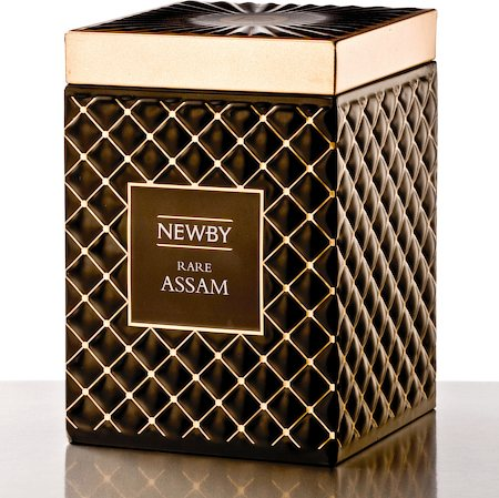Newby Gourmet Rare Assam Black Tea, 100 gm Caddy