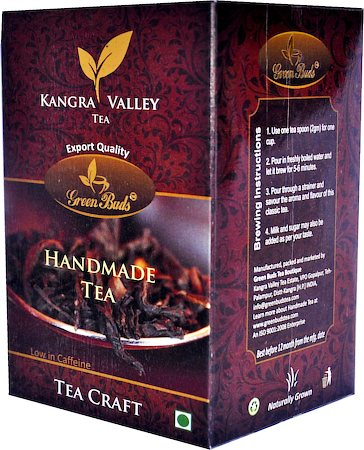 GreenBuds Kangra Handmade Black Tea, Loose Leaf 50 gm