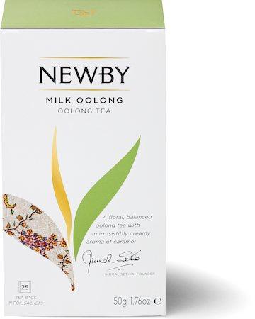 Newby Milk Oolong Tea (25 tea bags)