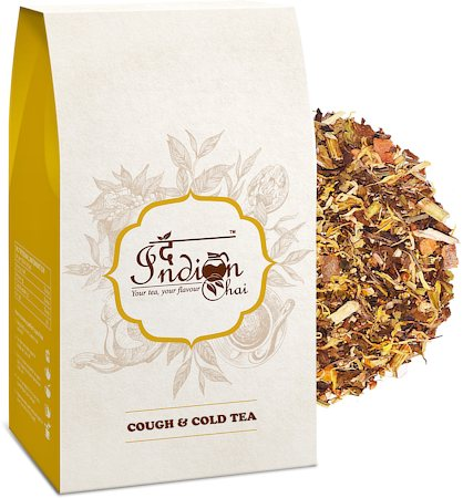 The Indian Chai - Ayurvedic Cough and Cold Relief Herbal Tea, 100 gm