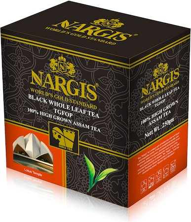 Nargis Assam High Grown TGFOP Black Tea, Loose Leaf 250 gm