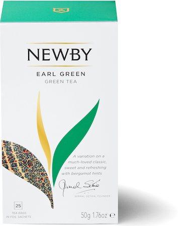 Newby Earl Green Tea (25 tea bags)