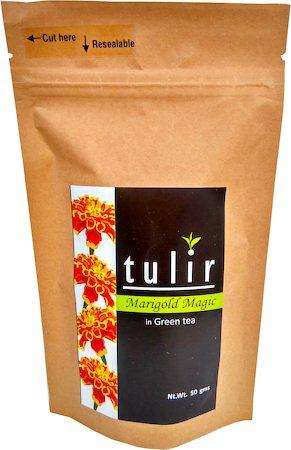Tulir Marigold Magic Green Tea, Loose Leaf 50 gm