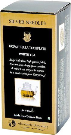 Gopaldhara Silver Needles White Tea, Loose 50 gms