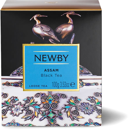 Newby Heritage Assam Loose Leaf Tea, 100 gm Carton