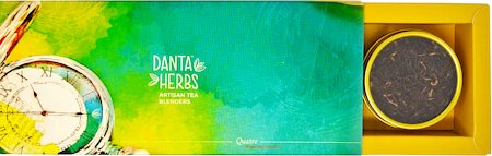 Danta Herbs Quatre - Time of the Day Tea Gift Box, 60 gm