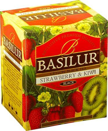 Basilur Magic Fruits Strawberry and Kiwi Tea (10 tea bags)