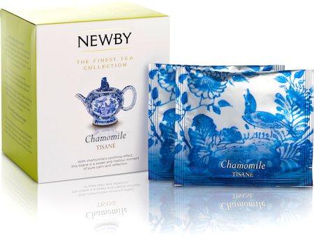 Newby Silken Pyramids - Chamomile Tea (10 Pyramid tea bags)
