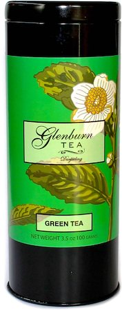 Glenburn Darjeeling Green Tea, Loose 100 gm Caddy