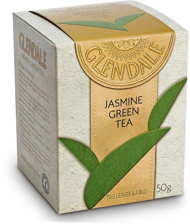 Glendale Jasmine Green Tea, Loose Leaf 50 gm