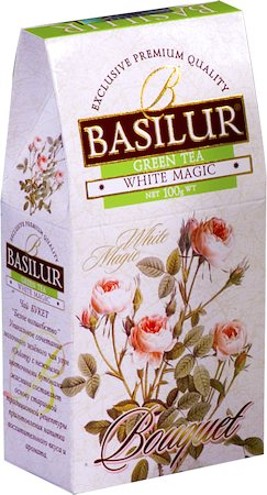 Basilur Bouquet White Magic Loose Leaf Tea 100 gm