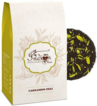 The Indian Chai - Cardamom Elaichi Assam CTC Chai, 100 gm
