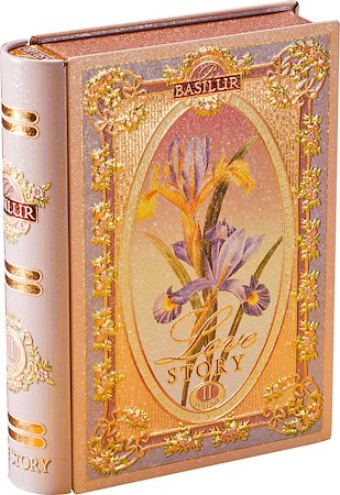 Basilur Love Story Tea Book Volume II Loose Leaf 100 gm Caddy