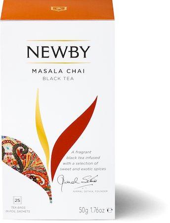 Newby Masala Chai (25 tea bags)