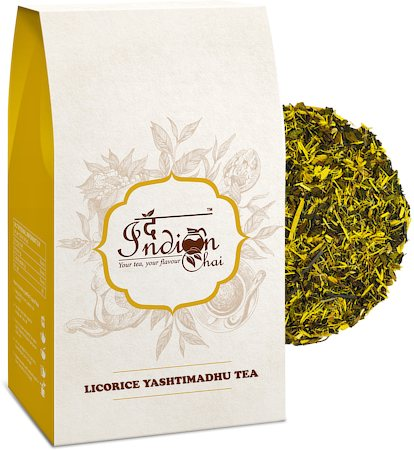 The Indian Chai - Licorice Mulethi Zing Ayurvedic Tea, 100 gm